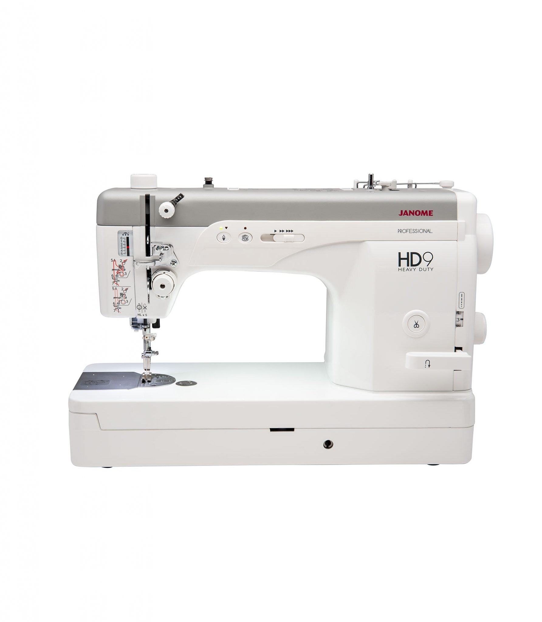 Janome HD9 Professional Quilter Quilting Heavy Duty Machine Flat Bed Mechanical