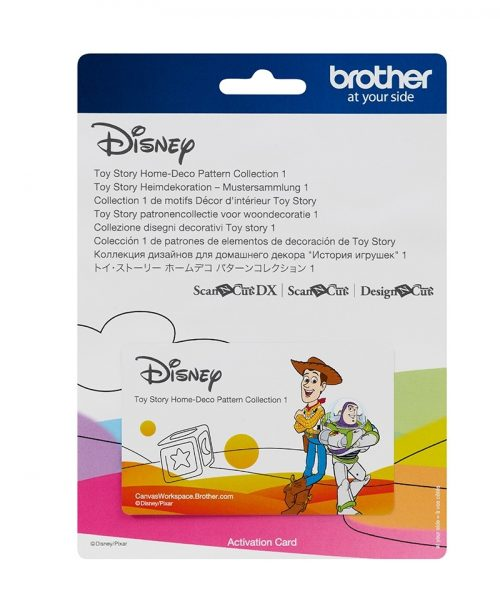 Brother Disney Toy Story Home Deco Collection Scan N Cut Applique Pixar Paper Craft Vinyl Designs