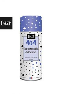 404 Temporary Adhesive Spray Repositionable Adhesive Spray Can Scan N Cut Tack Tacky Glue Sticky Stickiness Mats Stencil Quilting Applique Templates