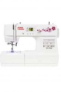 Janome DC1030 Juno Computerised Sewing Machine Sewer Stitches Buttonhole Discount Price Sale Cheap Special Spotlight Discount Lessons Free