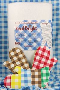 Insul Bright Heat Resistant Batting Wadding Stabiliser Sew Oven Mitt Oven Gloves USA America United States Thermoplan Thermo Plan