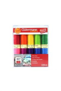 Gutermann Bonus Pack Polyester Thread Set Sew All Bolds Australia Spotlight Wholesale Discount Retailer Echidna HobbySew Sewing Quilting Patchwork Cotton Kit Quilting Dressmaking Seamstress Rasant Online Postage Freight Cheap Deal