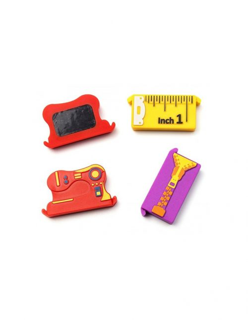 Magnetic Seam Guides Seam Magnet Needle Plate Throat Inch Quilting Quilters Zipper Tape Measure Sewing Machine Colourful Colours Accessories Spotlight Echidna HobbySew Old Mill Punch With Judy