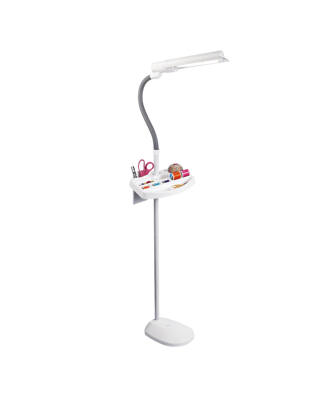 Ottlite 18w Sewing Sewers Floor Lamp With Storage Tray