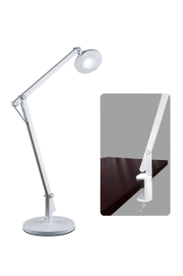 OttLite LED Crane Lamp with Clamp Table Desk Surface Floor and Table Light Adjustable Height Tall Swivel Rotate Neck Arm Standing Lamp Light 2-in-1 Magnifier Magnification LED Craft Space Organizer Magnifier Magnification Glass Rotate Swivel Light Pad Task Station Craft Station Crafting Quilting Sewing Artists Drawing Tracing Compartment Storage Accessories Daylight Illumination White Eyesight Australia Retailer Discount Dealer Stockist Stock Lamp Sewing Lamp Sewing Light Quilt Pattern Patchwork Tracing Rulers