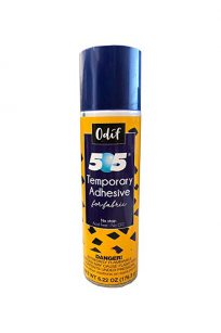 505 Temporary Adhesive Spray Can 505 Basting Spray Quilt Adhesive Quilting Sandwiching Piecing Layers Water Based Aerosol Odif France 101