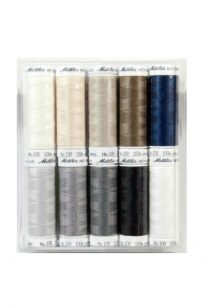 Mettler Metrosene Box Set 10 Spools 10 Cones 10 Reel Package Bundle Set Gift Polyester Sew-All Gutermann Rasant Quilting Embroidery Patchwork Alterations Victorian Textiles Retailer Australia Perth Western Australia Online Discount Postage
