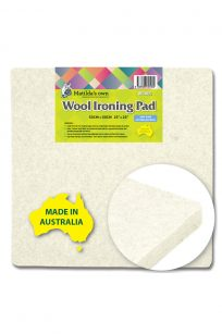 M3000 Matilda's Own Wool Ironing Pad Pressing Mat Felt Steam Quilting Quilter Embroidery Sewing Blocks Patchwork Sandwiching Australia Perth Western Australia WA Local Retailer Discount Price Cheap Postage Freight Buy Victorian Textiles