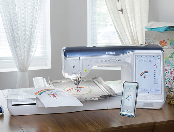 Tremendous Brother Stellaire Xj1 Sewing Embroidery Machine Home Interior And Landscaping Ologienasavecom