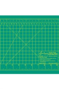 Sew Easy Cutting Mat 12 x 18 inches centimeters centimetres millimetres