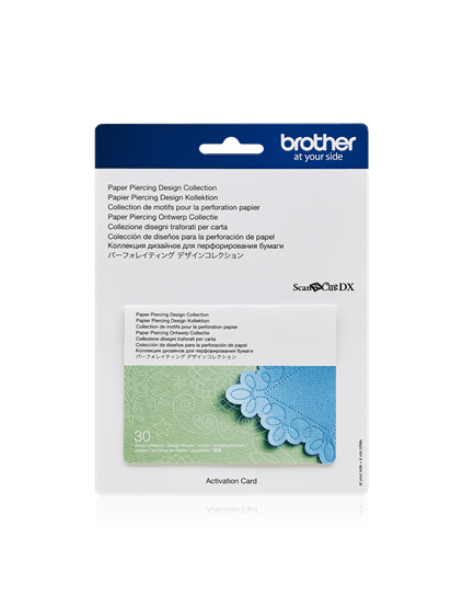 Brother Scan N Cut Paper Piercing Design Collection Designs Activation Card Online Starter Kit Paper Piercing Tools Mat Kit CADXPPKIT1 Paper Piercing Mat SDX1200 SDX1000 SDX2200D Disney Limited Edition Design Collection Activation Australia Echidna Spotlight Hobbysew Discount Postage Stock