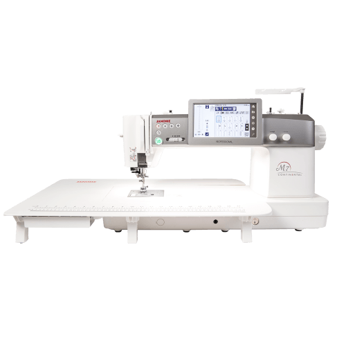 Janome Continental M7 Professional Sewing Machine Quilting Quilters Industrial Heavy Duty Performance New Australia Discount Postage Best Price Free Lessons Throat Space Large Features Information Details Specifications