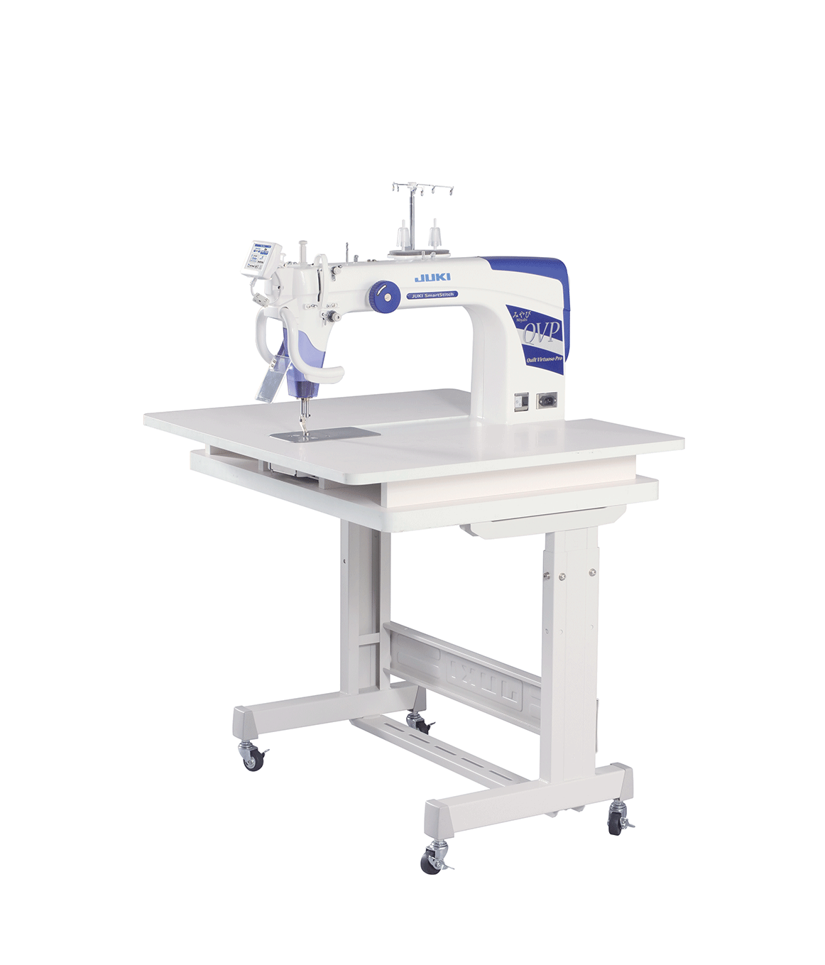 Juki Miyabi J-350 Longarm Long-arm Quilter Quilting Machine Professional Free Motion Industrial Australia Perth Western Australia Dealer Retail Buy Online Applique Stipple Raw Edge Stitch Sewing Sweet 16 Grace Frame Table Stand Shipping Japan