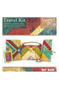 Sweet Pea Travel Kit Get Away CD Bag Handbags Carry Bag CD Designs Set In The Hoop Embroidery Project Buy Online Retailer Postage PDF Brother Janome Pfaff Bernina Husqvarna Elna