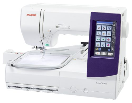 Janome MC9850 Memory Craft 9850 Janome Sewing and Embroidery Australia MC9900 Sale Discount Deal Special Price Postage Freight Western Australia Perth Local Features Details Information Hoop Frame Size Weight Dimensions Area