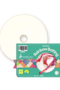 Matilda's Own Rainbow Batting Pure Cotton Jelly Roll Strips Two Aunties Old Mill Echidna Sewing Spotlight Perth Western Australia Retailer Supplier Wholesale Bulk Buy Discount Postage Freight