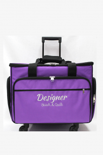 Baby Lock Trolley Bag Large Machines Purple Australian Retailer Postage Discount Design Stitch Gloria Ovation Evolution