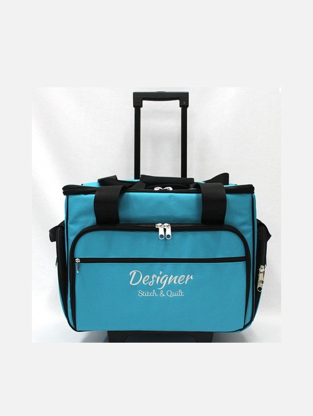 Baby Lock Trolley Bag Medium Teal Australia Retailer Discount Postage Gloria Ovation Evolution Evolve Coverstitch Imagine