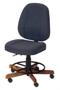Koala Sew Comfort Sewing Chair Sapphire Blue Seat Top Wood Australia Supplier Stock Retail Discount Dealer Postage