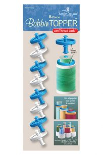 Taylor Seville Bobbin Topper 8 pack 8 pc with Thread Lock Punch With Judy Quilting Sewing Notions Gift Australia Wholesale Retailer Dealer Discount Postage