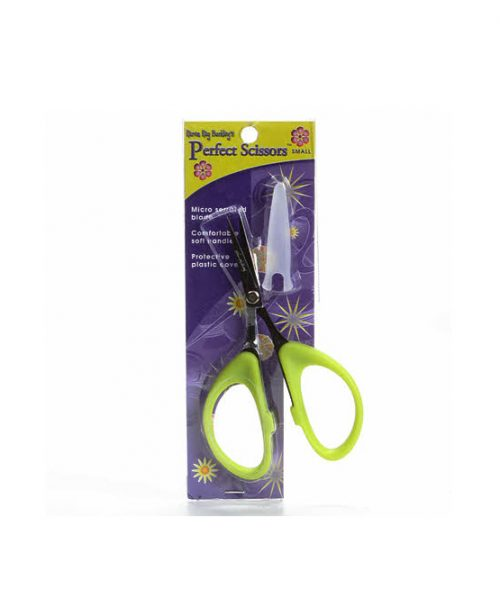 Karen Kay Buckley Perfect Scissors 4 Inch Small Green Fine Tip Micro Tip Serrated Retailer Australia Discount Postage Freight