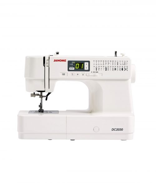 Janome DC2030 Sewing Machine Australia Retailer Dealer Discount Postage Freight Included Free Lessons Wide Table Walking Foot Buttonhole Beginner Basic