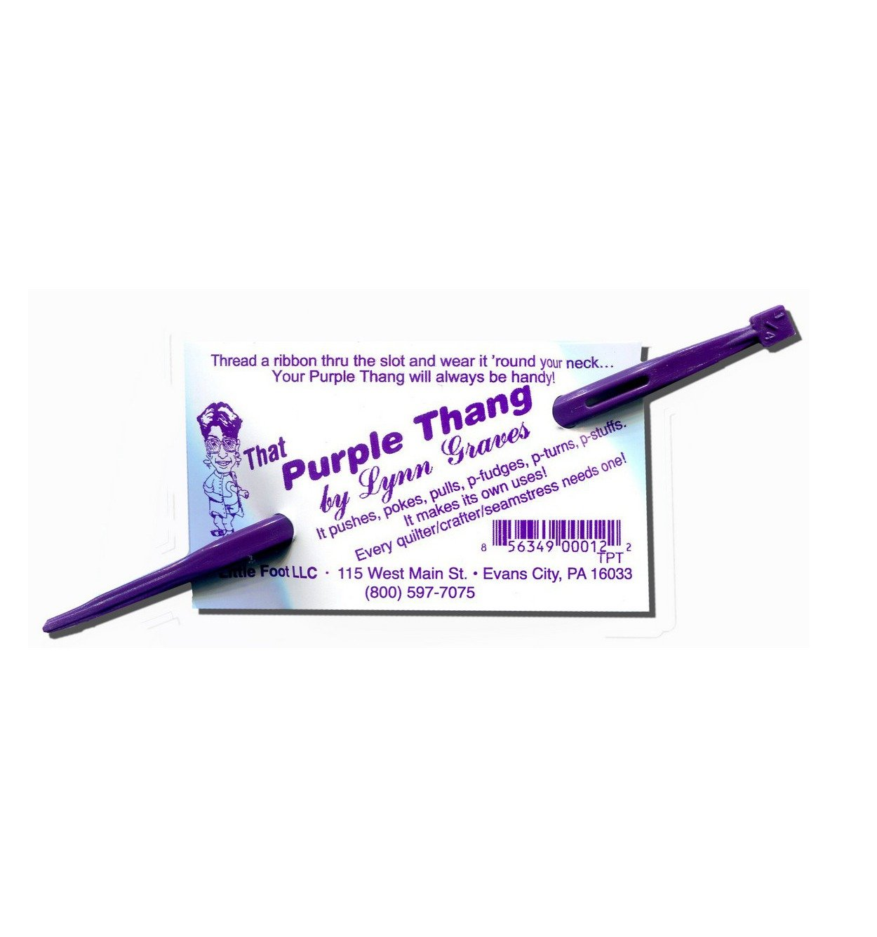 That Purple Thang by Lynn Graves Quilting Sewing Embroidery Notion Tool Quarter Inch Ribbon Australia Retailer Dealer Discount Postage Craft Accessories