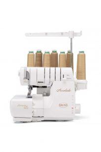 Baby Lock Accolade Overlocker Coverstitch Australia Dealer Discount Retailer Postage Lessons Store Local Buy Online Details Features Wave Stitch Air Threading Automatic Tensions
