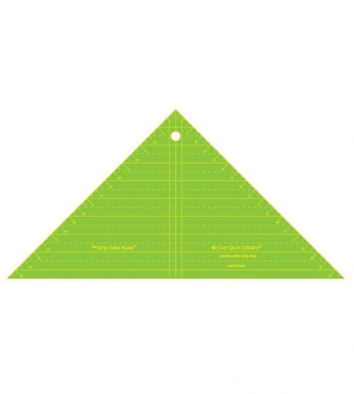 Strip Tube Ruler Inch Triangle Square 9.5'' Inches Cosy Quilt Designs Australia Retailer Discount Dealer Postage