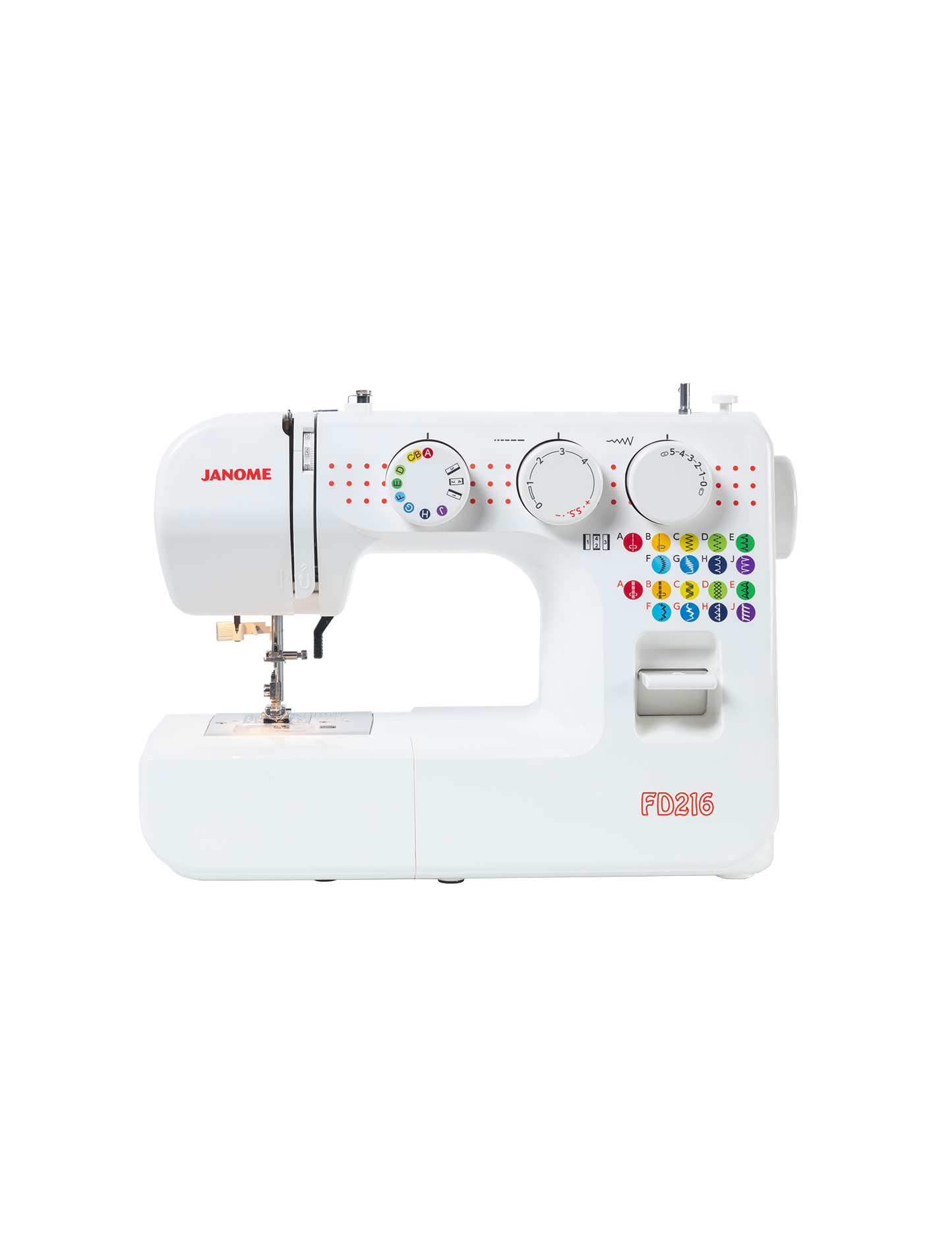 Janome FD216 Mechanical Sewing Machine Beginner Basic Australia Postage Discount Deal Spotlight HobbySew Cheap