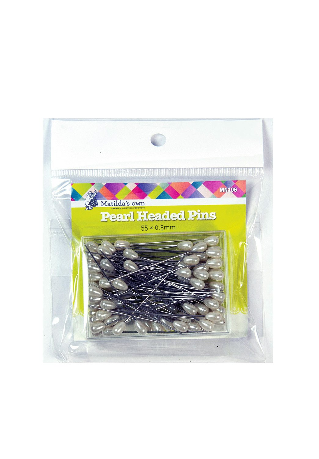 Matilda's Own Pearl Head Pins Applique Dressmaking Quilting Bulk Buy Discount Price Quantity Premium Quality Australia