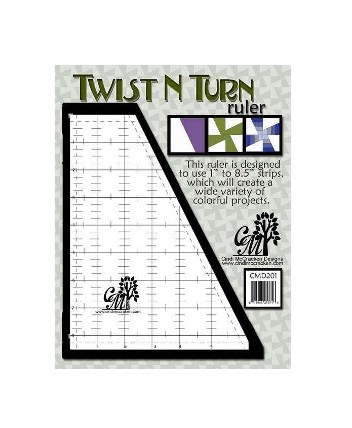 Twist N Turn Ruler Template Twist and Turn Ruler Template Quilting Australia Baby Twist Bali Swirls Fractured Rainbow Under the Sea Projects Beginner Patterns Buy Now Dealer Discount Postage
