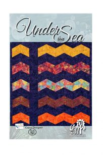 Twist N Turn Pattern Under the Sea Quilt Pattern Australia Ruler Template