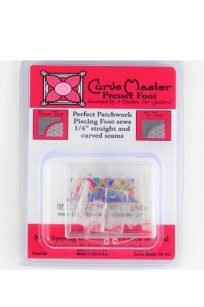 Curve Master Presser Foot Perfect Seams Edges PunchWithJudy Quilting Patchwork Dresden Drunkards Path