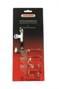 Janome Continental CM7 Optic Magnifiers Magnifying Glass Set Australia Dealer Discount Retailer