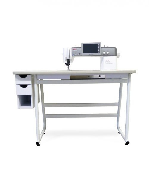 Janome Continental CM7 Table Stand Accessories Australian Retailer Dealer Discount Drawers Table Insert Free Motion Flat Bed Quilting
