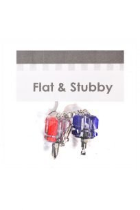 Flat and Stubby Screwdriver Set Keyring Attachment Needle Plate Machine Overlocker Needle Clamp Screw