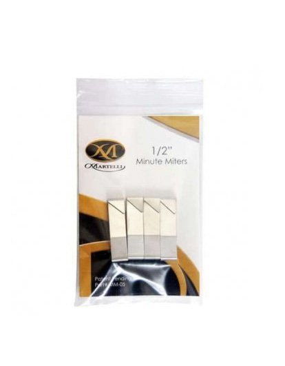 Martelli Minute Miter Clamps 1/2'' 4 Pack 4 Piece Binding Quilting Bound Corners Perfect Finish Notions Tools Accessories