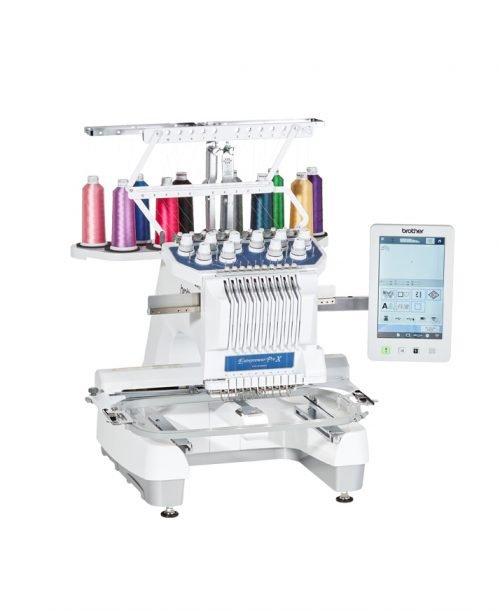 Brother Entrepreneur Pro X PR1055X Embroidery Only Multi-Needle Machine Australian Dealer Retailer Discount Online Buy Postage Business Commercial Multihead Tajima Barradin Janome Baby Lock Pfaff Husqvarna Colour Stitch Speed
