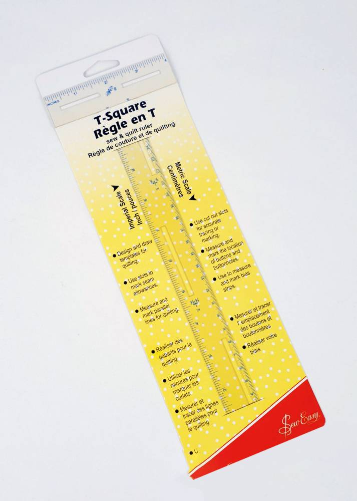 SewEasy T-Square Ruler Measurements Imperial Metric Australia Dealer Retailer Discount