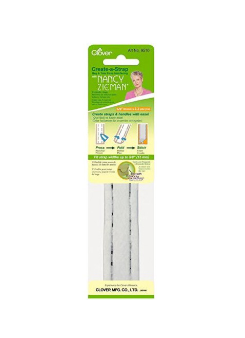 Clover Create A Strap Bag and Tote Bag Strap Handles Maker Sew Interfacing Stabiliser Backing Wadding Tool Marking Sew Metres Wide Press Fold Stitch Australia Dealer Discount Online Postage