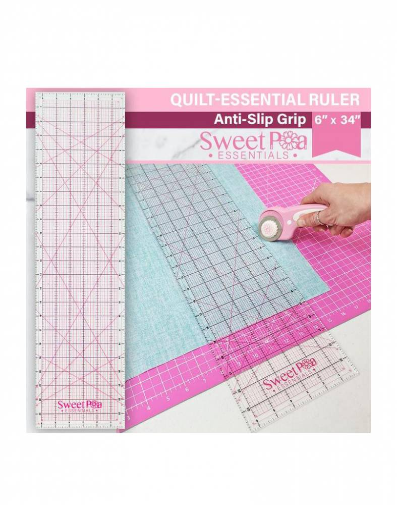 Sweet Pea Quilt Essential Ruler Quilting Cutter Australia Retailer Dealer Discount Postage Online Buy