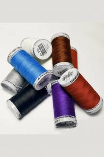 Gutermann M782 Extra Strong Thread Polyester 100m 40 WEIGHT Canvas Leather Upholstery Shade Sail Vinyl Material Industrial Heavy Duty Nylon Bonded UV TREATED